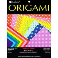 "Dots & Solids; Assorted Colors - Fold 'Ems Origami Paper 5.875"" 8/Pkg"