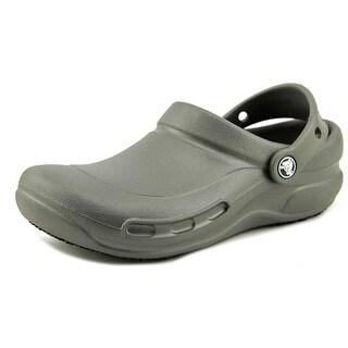 Crocs Bistro Batali Women Round Toe Synthetic Gray Clogs