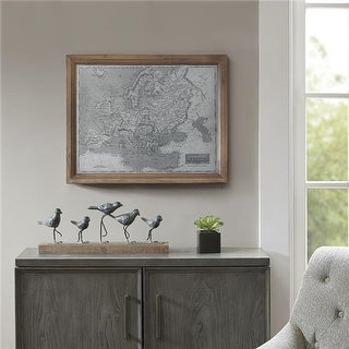 Madison Park MP167-0241 Europe Wall Art - Gray
