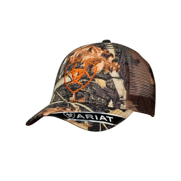 9424a7dcab451 Shop Ariat Mens Hat Baseball Cap One Size Camouflage Beige - Free Shipping  On Orders Over  45 - Overstock - 20565231