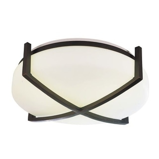 """AFX REF13213QMV 2 Light 12"""" Flush Mount Ceiling Fixture from the Restoration Collection"""