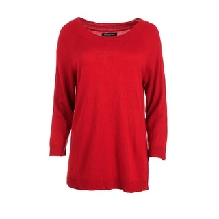 Jones New York Womens Wool Blend Boatneck Pullover Sweater - XL