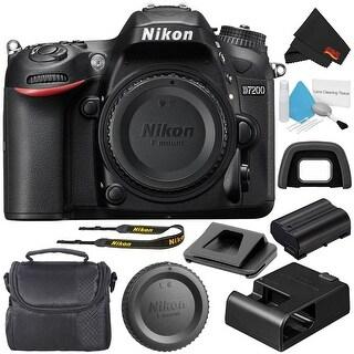 Nikon D7200 1554 24.2 MP DSLR Camera Body Only (Intl Model) Bundle (3 options available)