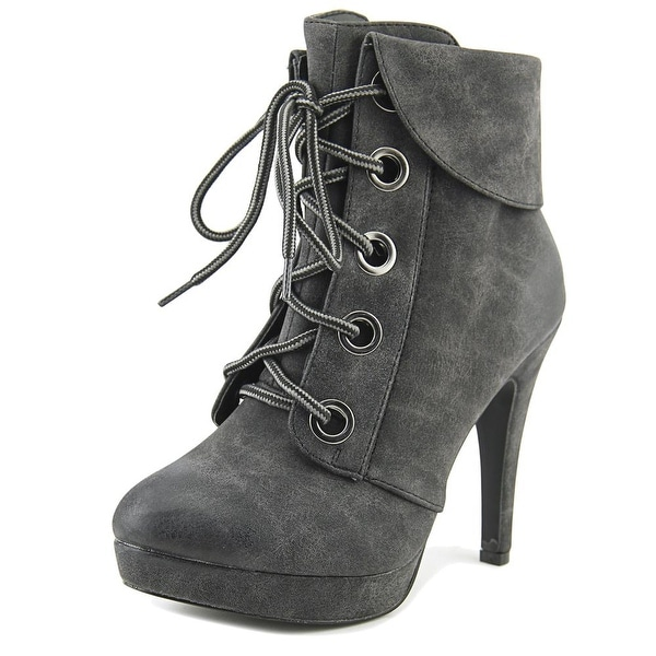 2 Lips Too Too Luca Women Round Toe Synthetic Ankle Boot