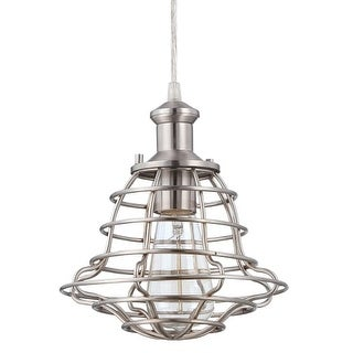 Craftmade P3201 1 Light Mini Pendant with Heavy Wire Shade