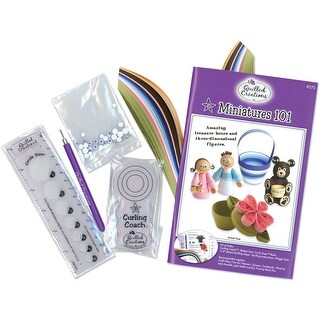 Quilling Kit-Miniatures 101