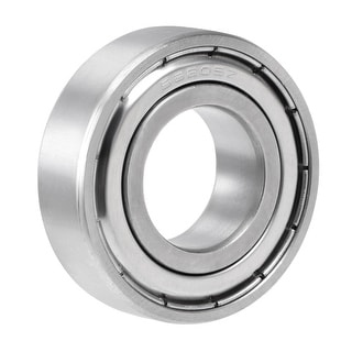 S6205ZZ Stainless Steel Ball Bearing 25x52x15mm Double Shielded 6205Z Bearings - 1 Pack - S6205ZZ (25*52*15)