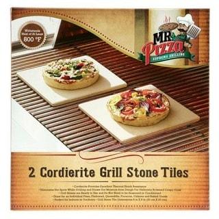 Mr. Bar B Q Cordierite Grill Stone Tiles