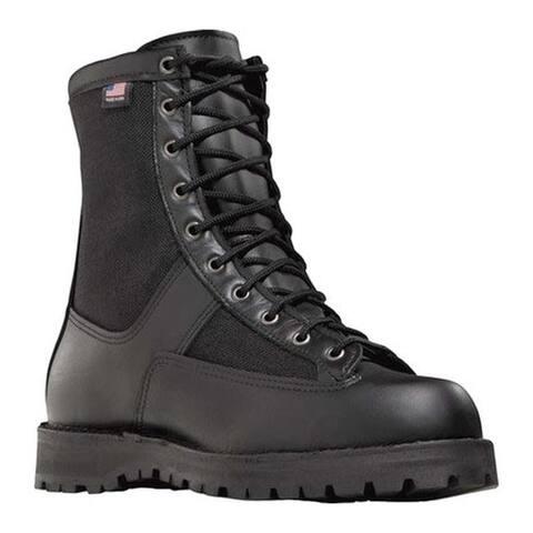 """Danner Men's Acadia 8"""" Steel Toe Boot Black"""