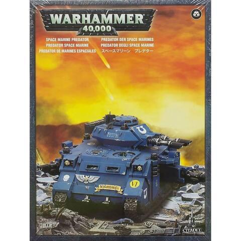 Warhammer 40k Model Miniatures - Space Marine Predator Tank - Multi