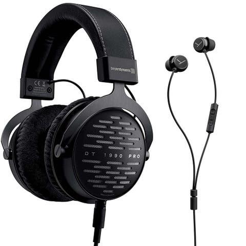 Beyerdynamic DT 1990 Pro Studio Headphones with Soul Byrd Wired In-Ear