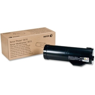 Xerox 106R02722 Xerox Black High Capacity Toner Cartridge, Phaser 3610, WorkCentre 3615 (14,100 Pages) - Black - Laser - 14100
