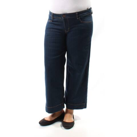 GUESS Womens 1030 Navy Casual Jeans 32 Waist
