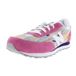 New Balance Girls Suede Mesh Running Shoes