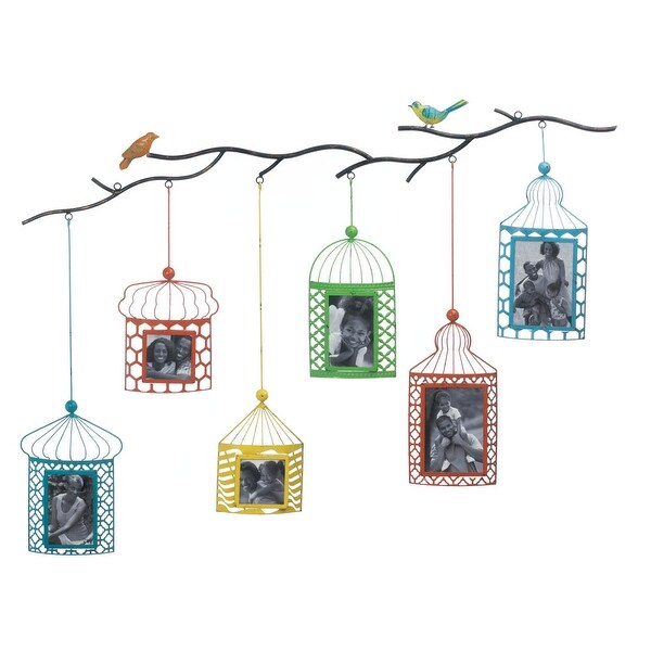 Newly Birdcage Photo Frame Decor