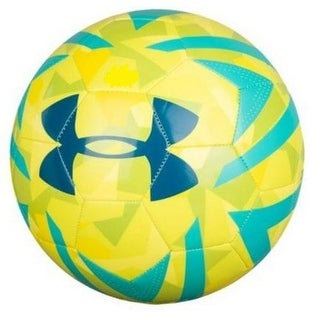 Under Armour Unisex Mini Tokyo Soccer Ball, Bulk Inflated, Lemon Camo, 1 - lemon camo