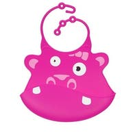 Hippo Silicone Bib, Pack Of 5