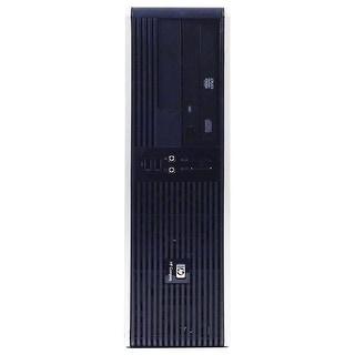 HP RP5700 Desktop Computer SFF Intel Core 2 Duo E6400 2.13G 2GB DDR2 80G Windows 10 Pro 1 Year Warranty (Refurbished) - Black