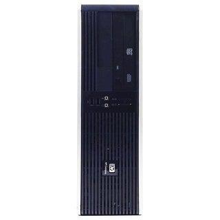 HP RP5700 Desktop Computer SFF Intel Core 2 Duo E6400 2.13G 4GB DDR2 500G Windows 7 Pro 1 Year Warranty (Refurbished) - Black