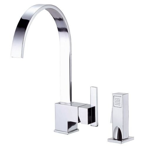 Danze D401144 Kitchen Faucet - Includes Metal Side Spray From the ...