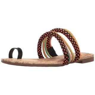 Circus by Sam Edelman Womens Helen Open Toe Casual Slide Sandals