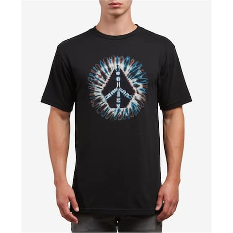 Volcom Mens Peace Stone Graphic T-Shirt black M