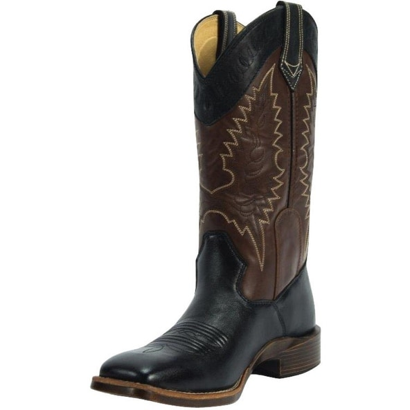 Noble Outfitters Boots Women All Around Square Steel Shank Black