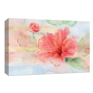 """PTM Images 9-148409  PTM Canvas Collection 8"""" x 10"""" - """"Hibiscus"""" Giclee Flowers Art Print on Canvas"""