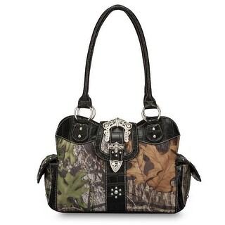 Mossy Oak Women's Double Handle Camouflage Handbag - One size https://ak1.ostkcdn.com/images/products/is/images/direct/a596cc0fe55d825cb03a3bb9b041905755d2118f/Mossy-Oak-Women%27s-Double-Handle-Camouflage-Handbag.jpg?_ostk_perf_=percv&impolicy=medium