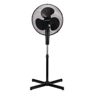 Brentwood Kool Zone F 16smb 16 Oscillating Stand Fan Black
