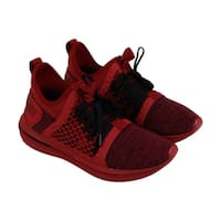 Puma Ignite Limitless Sr Netfit Mens Red Textile Athletic Training Shoes