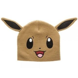 Pokemon Eevee Bigface Beanie - Yellow