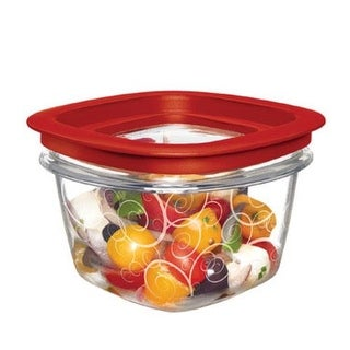 Rubbermaid 7H75-TR-CHILI Food Storage Containers, 2 Cup