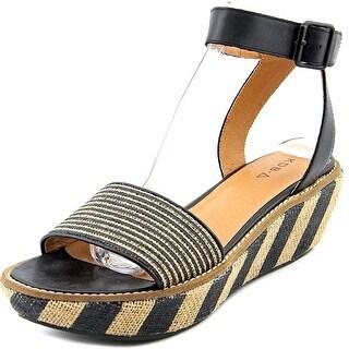 Kelsi Dagger Crown Heights Women Open Toe Canvas Sandals