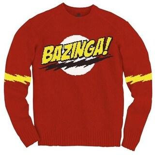 Big Bang Theory Bazinga Knit Sweater
