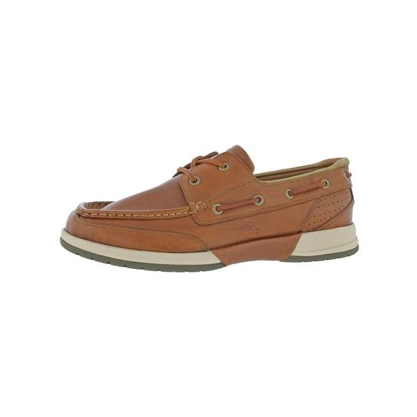 03fd429334 Tommy Bahama Mens Land Lover Boat Shoes Slip-On Boat - 12 medium (d