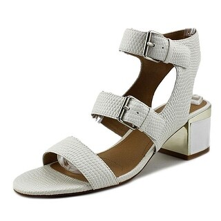 Tahari Womens Dalton Leather Open Toe Special Occasion Ankle Strap Sandals