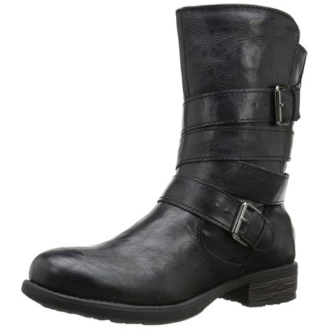 Rampage Womens Islet Closed Toe Mid-Calf Fashion Boots