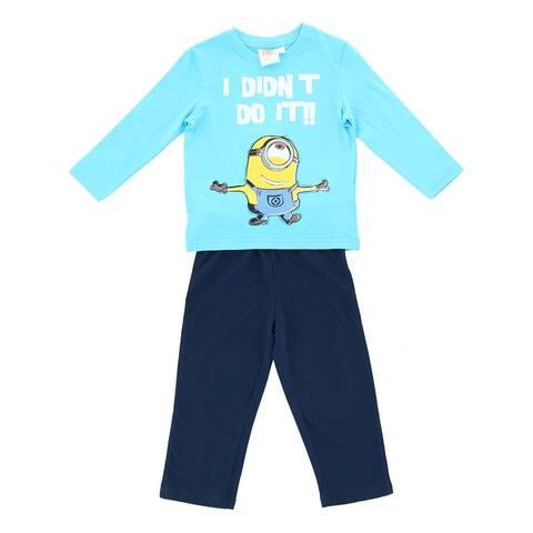 Textiel Trade Illumination Boy's Minion Long Pajama Set