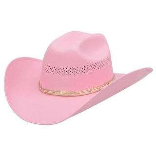 Alamo Cowboy Hat Girls Kids Little Princess Canvas Pink 20009
