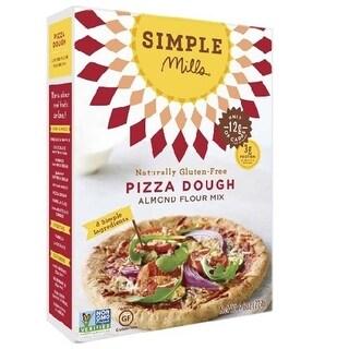 Simple Mills BWA28151 6 x 9.8 oz Sim Pizza Dough Flour Mix