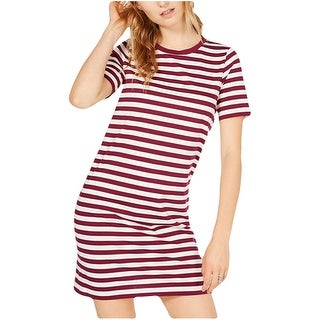 Link to MICHAEL Michael Kors Womens Dresses Purple Size Small S T-Shirt Striped Similar Items in Dresses