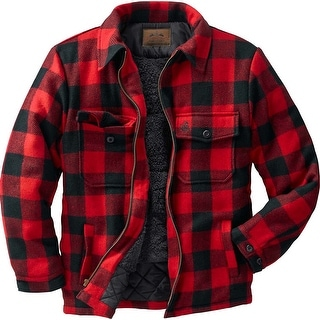 Legendary Whitetails Men's Buffalo Plaid Outdoorsman Jacket