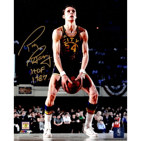 c922d494116e Rick Barry Golden State Warriors Under Hand Free Throw 8x10 Photo wHOF 1987