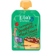 Ella's Kitchen Baby Food - Spaghetti Meat Cheese - Case of 12 - 4.5 oz.