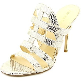 Ivanka Trump Hullen Open Toe Synthetic Slides Sandal