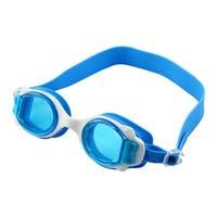 Adjustable Belt Anti Fog Swim Glasses Swimming Goggles Blue for Kids Children