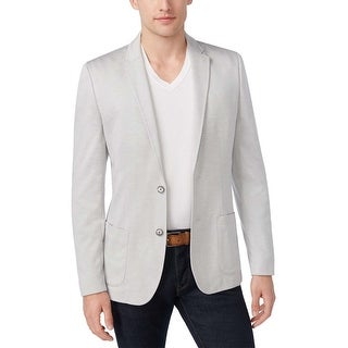 Calvin Klein Slim Fit Highrise Grey Soft Touch Sportcoat X-Large