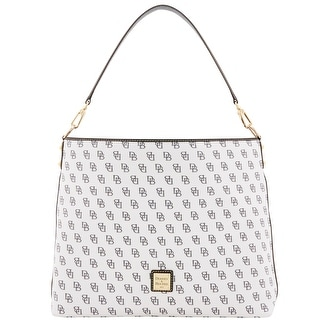 Dooney & Bourke Madison Signature Giant Sac (Introduced by Dooney & Bourke at $268 in Feb 2017) - White Black