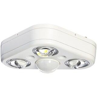 Cooper Lighting REV32750MW Triple Head LED Floodlight, White